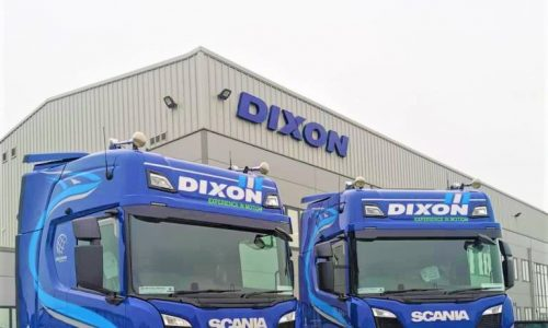 25 New Scania Trucks for Dixon