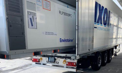 Envirotainer Releye® RLP arrives at Dixon International Logistics
