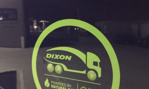 Dixon Transport significantly reduces its emissions through investment in green sustainability strategy