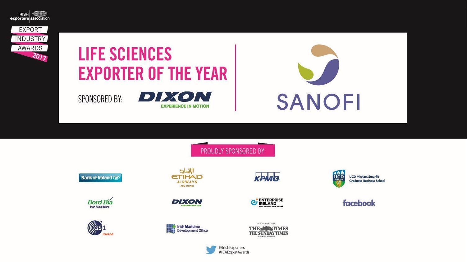 Irish Exporters Association 2017 - Sponsors